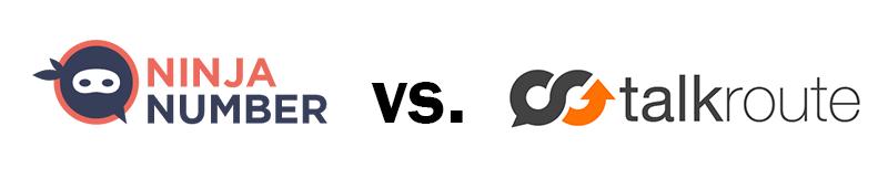 Ninja Number vs. TalkRoute