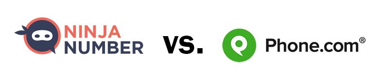 Ninja Number vs. phone.com