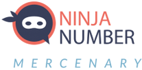 Ninja Number Mercenary logo