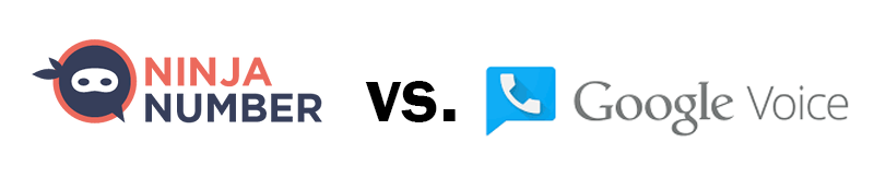 Ninja Number vs. Google Voice