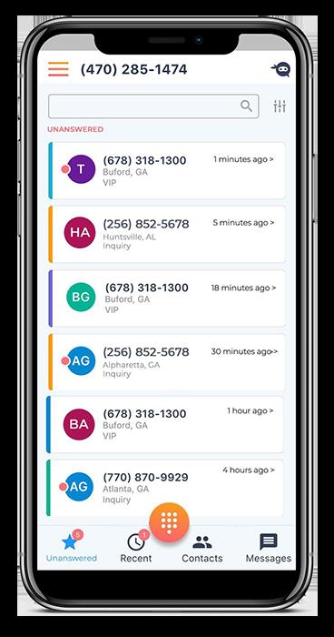 Ninja Number app - dashboard