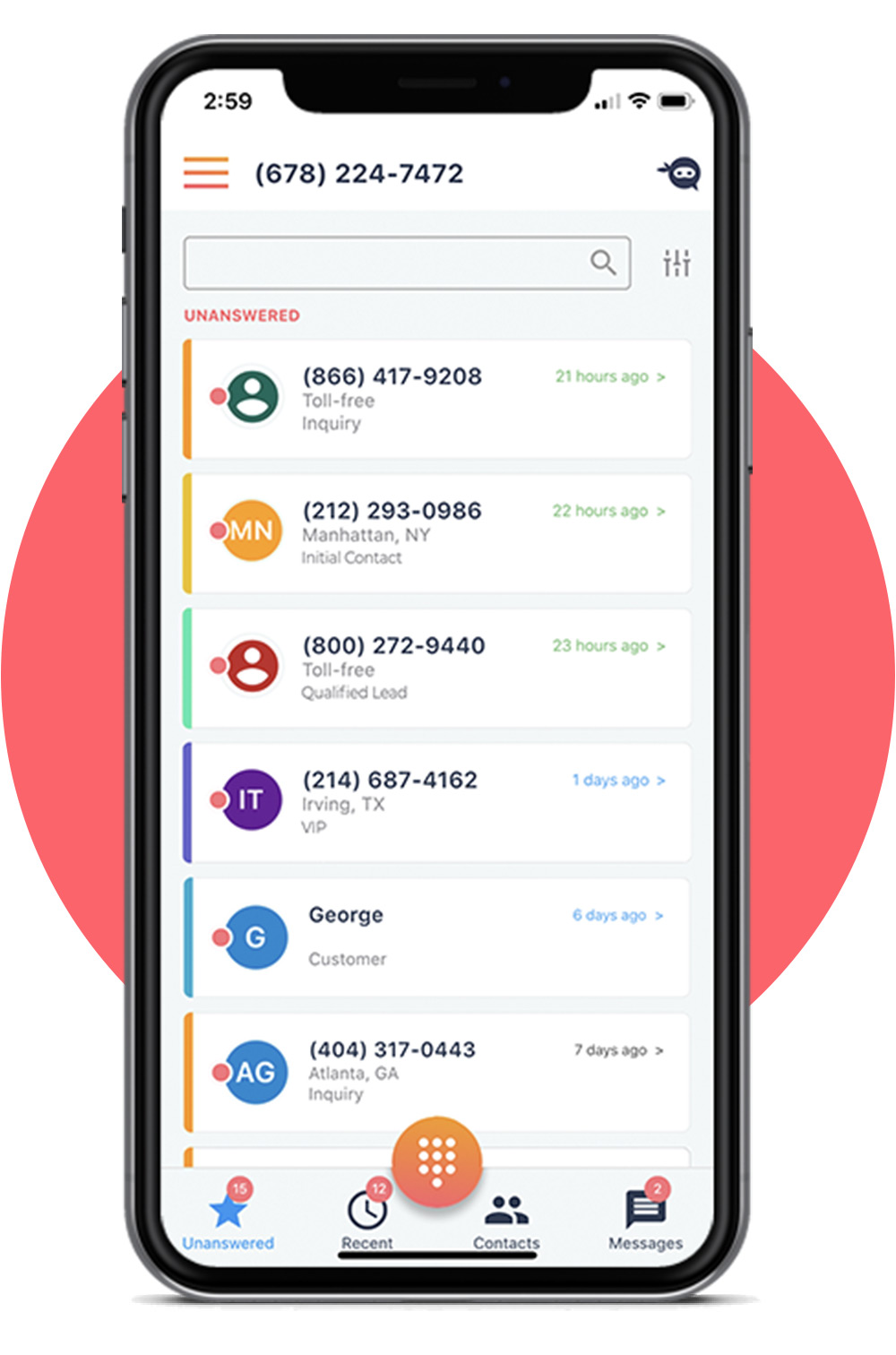 Manage Business Calls with Ninja Number - Virtual Business Phone